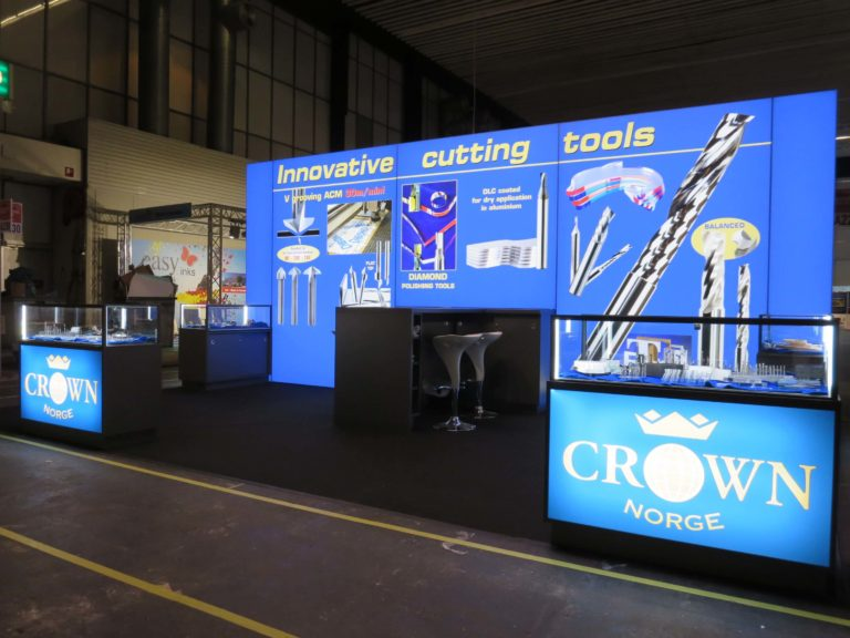 Messestand_CrownNorge