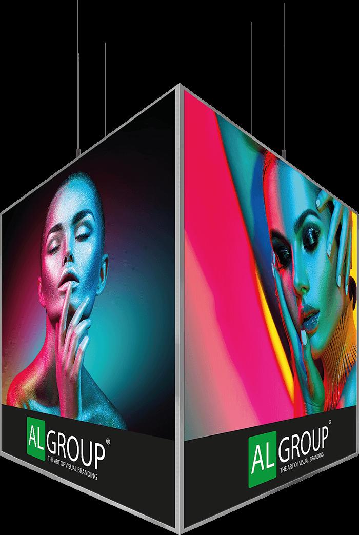 Framless Cube Montage